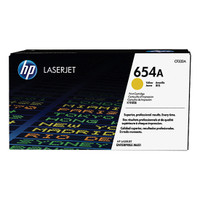 HP 654A (CF332A) Yellow Toner Cartridge