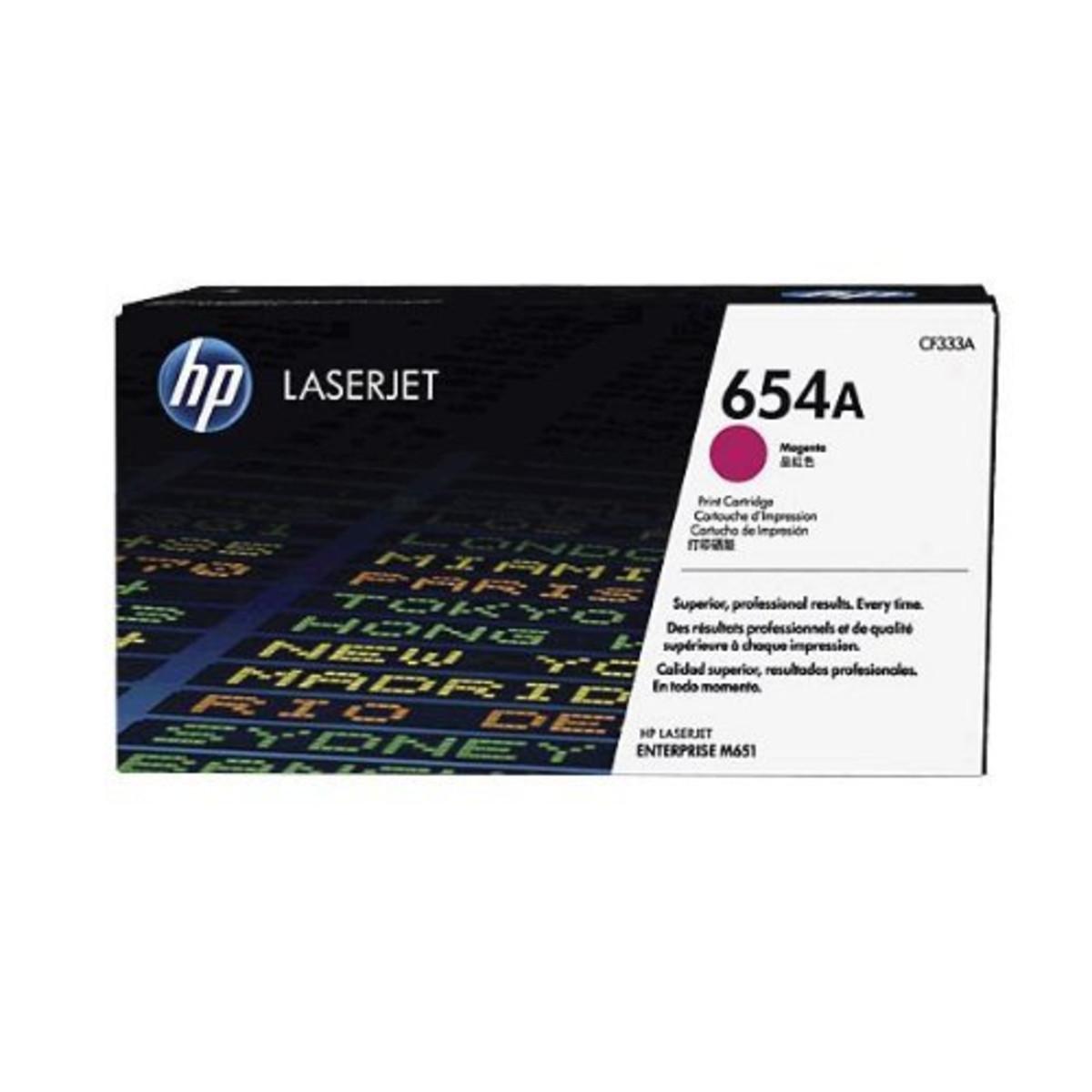 HP 654A (CF333A) Magenta Toner Cartridge
