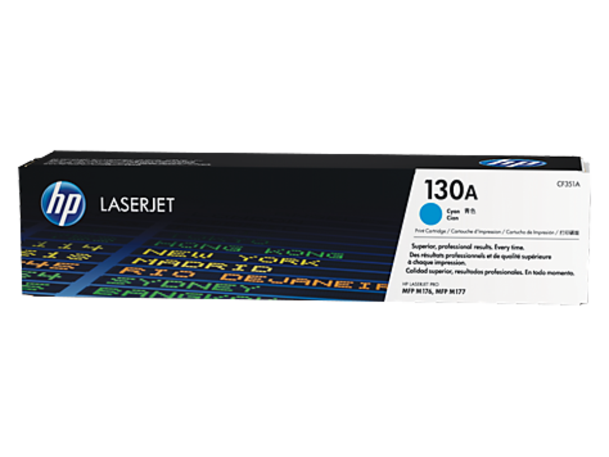 HP 130A (CF351A) Cyan Toner Cartridge