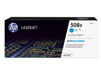 HP 508X (CF361X) Cyan High Yield Toner Cartridge