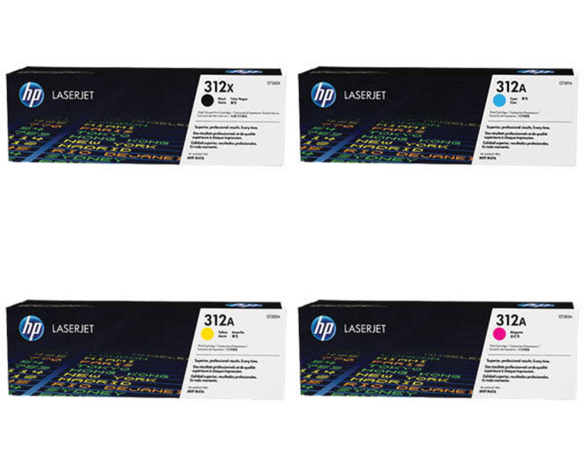 HP 312X High Yield Bundle Pack