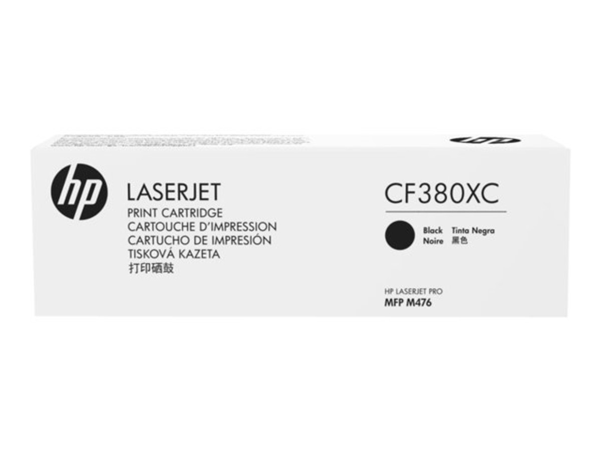 HP 312X (CF380X) Black Toner Cartridge - High Yield