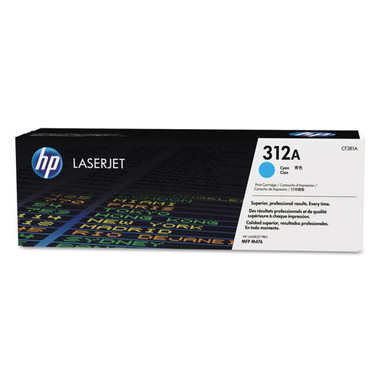HP 312A Cyan Toner Cartridge (Original)
