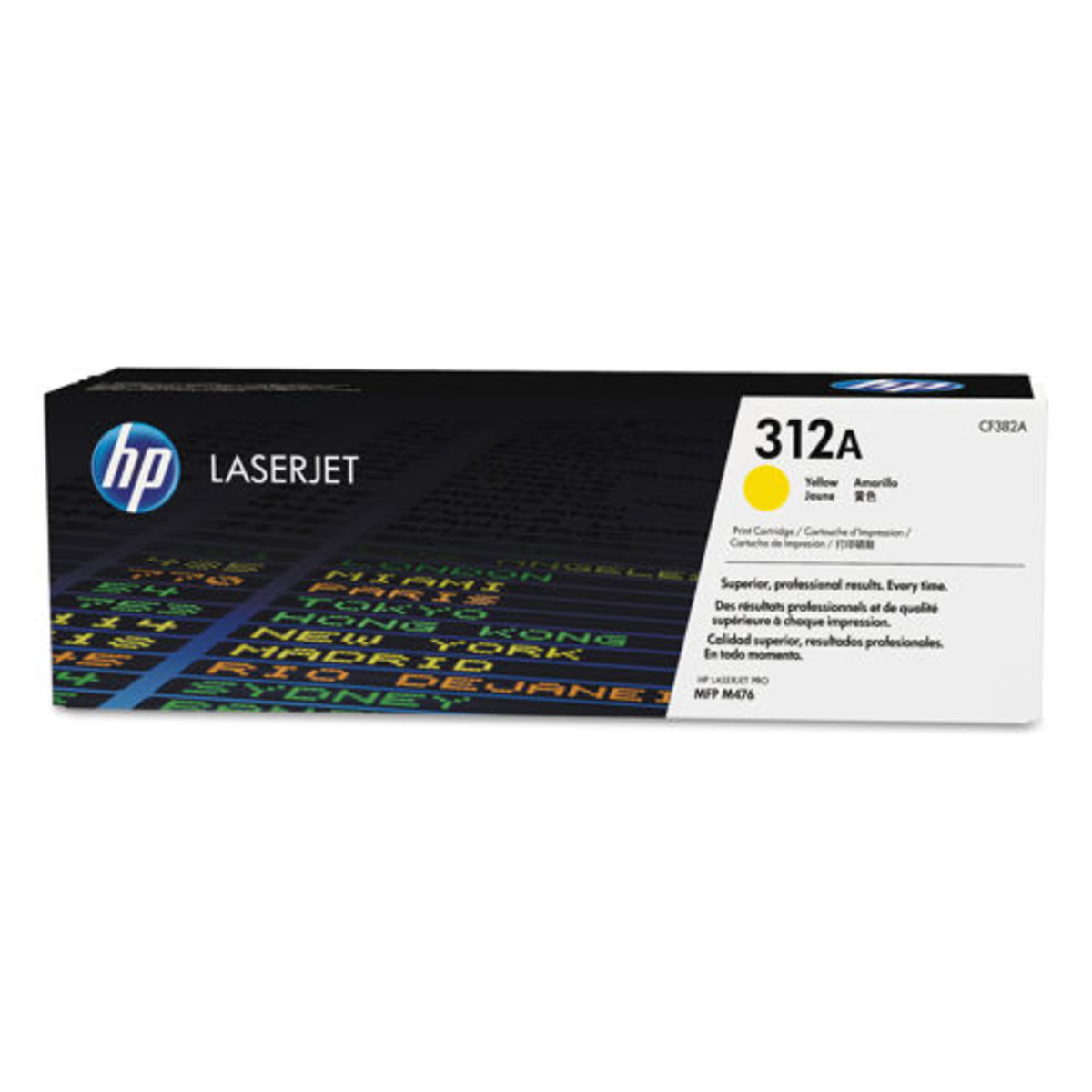 HP 312A (CF382A) Yellow Toner Cartridge