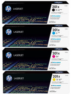 HP 201X (CF400X) Colour Toner Bundle Pack