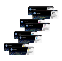 HP 201X Toner Cartridges Value Pack - Includes: [2 x Black, Cyan, Magenta, Yellow]