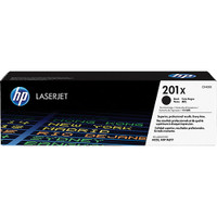 HP 201X (CF400X) Black Toner Cartridge - High Yield