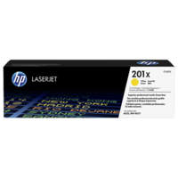 HP 201X (CF402X) Yellow Toner Cartridge - High Yield