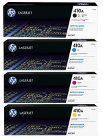 HP 410A (CF410A) Colour Toner Bundle Pack