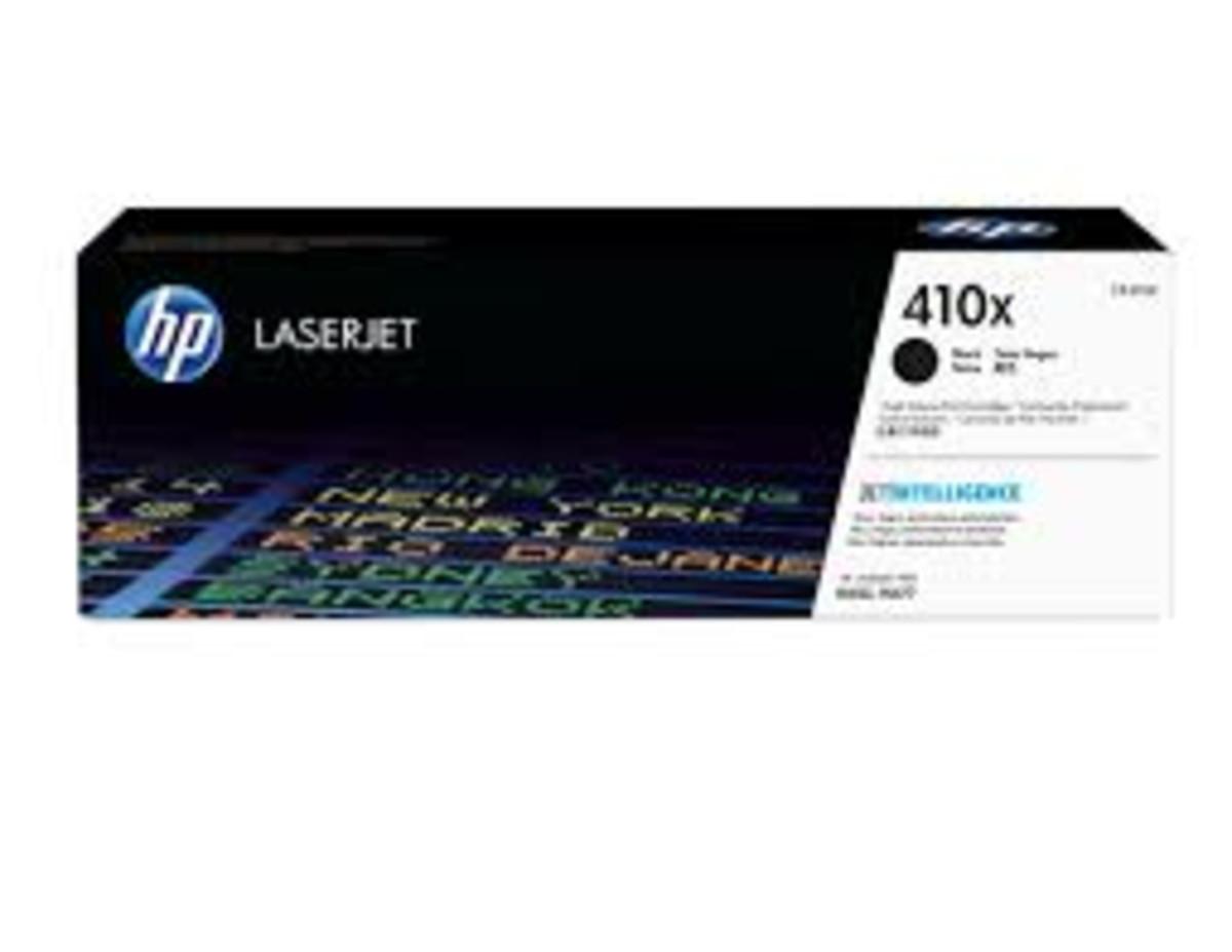 HP 410X (CF410X) Black Toner Cartridge