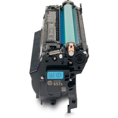 HP 657X (CF471X) Cyan Toner Cartridge