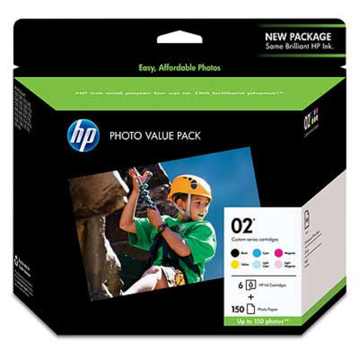 HP 02 Photo Value Pack