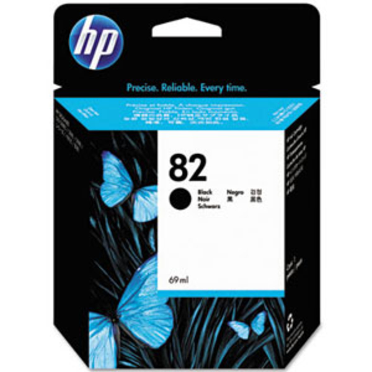 HP 82 (CH565A) Black Ink Cartridge