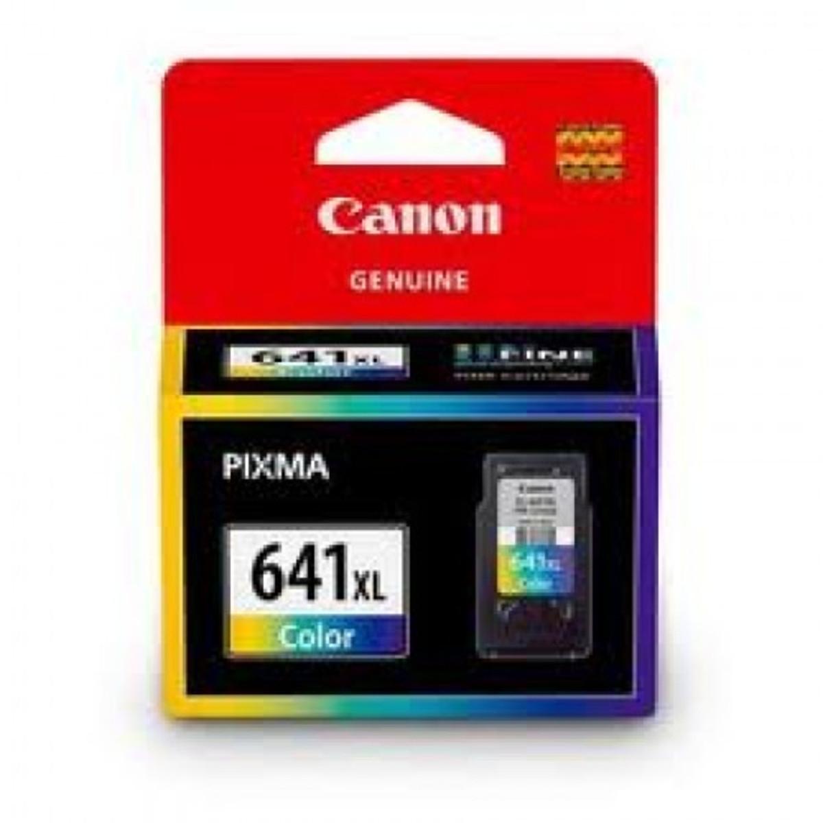Canon CL-641XL Tri-Colour Ink Cartridge - High Yield