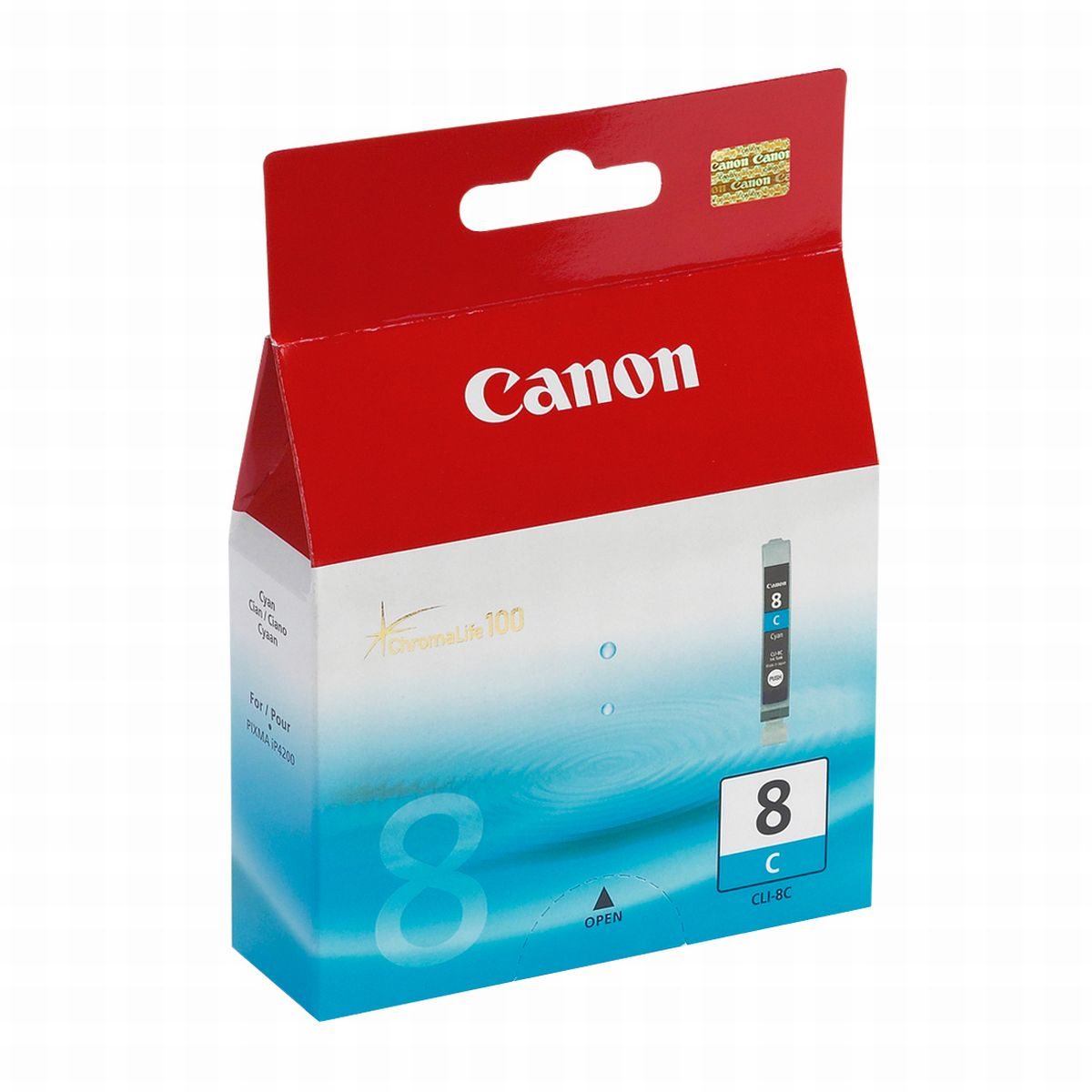 Canon CLI8C Cyan Ink Cartridge (Original)