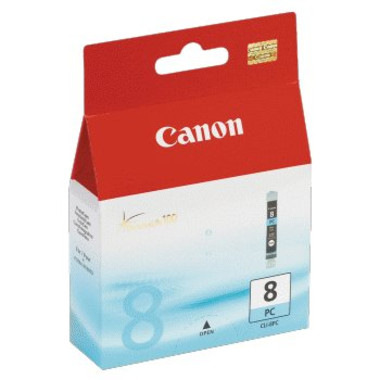 Canon CLI8PC Photo Cyan Ink Cartridge (Original)