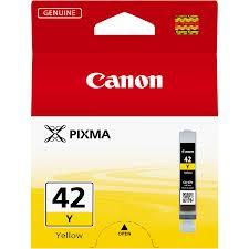 Canon CLI42 Yellow Ink Cartridge (Original)