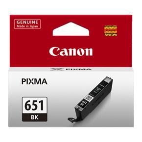 Canon CLI651 Black Ink Cartridge (Original)