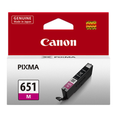 Canon CLI651 Magenta Ink Cartridge (Original)
