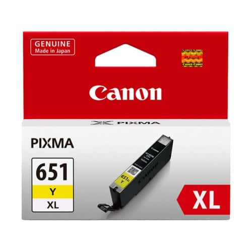 Canon CLI651XL Yellow Ink Cartridge (Original)