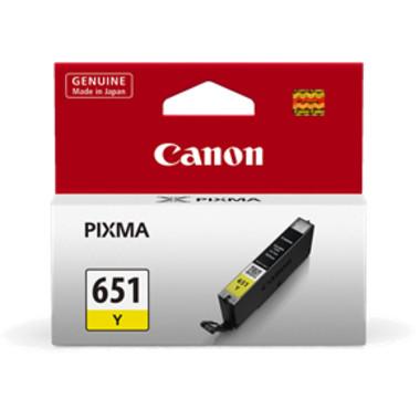 Canon CLI651 Yellow Ink Cartridge (Original)