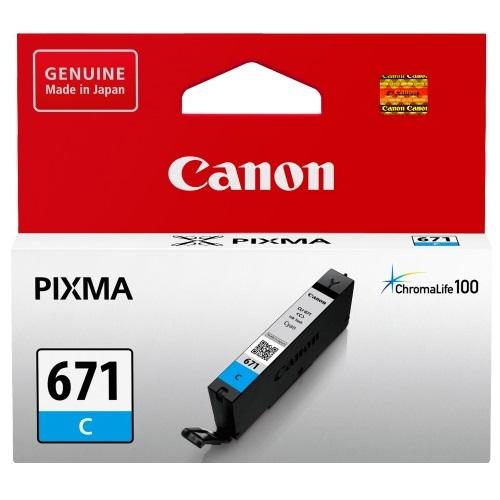 Canon CLI671 Cyan Ink Cartridge (Original)