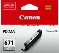 Canon CLI671GY Light Grey Inkjet Cartridge