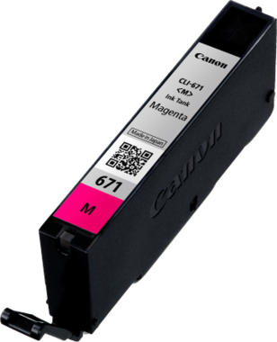 Canon CLI671 Magenta Ink Cartridge (Original)