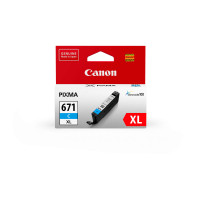 Canon CLI671XL Cyan Ink Cartridge (Original)