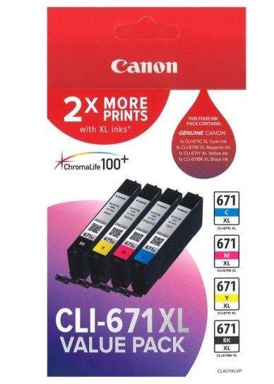 Canon CLI671XL Other Ink Cartridge (Original)