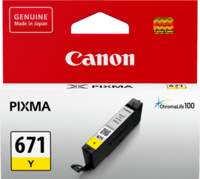 Canon CLI671Y Yellow Inkjet Cartridge