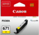 Canon CLI671Y Yellow Inkjet Cartridge