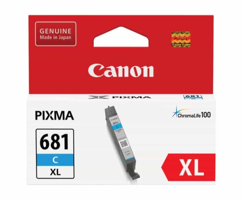 Canon CLI681XL Cyan Ink Cartridge (Original)