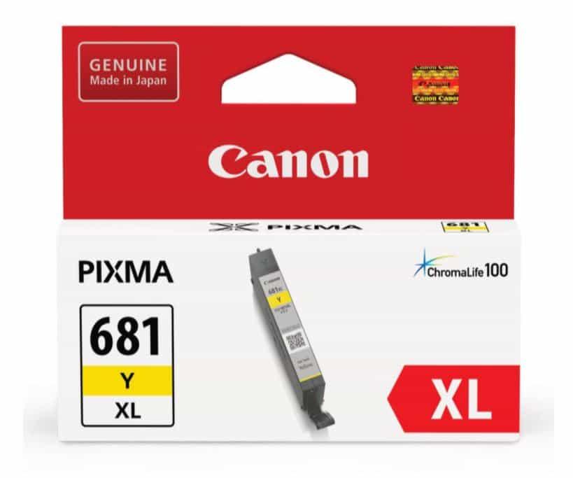 Canon CLI681XL Yellow Ink Cartridge (Original)