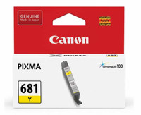 Canon CLI681 Yellow Ink Cartridge (Original)