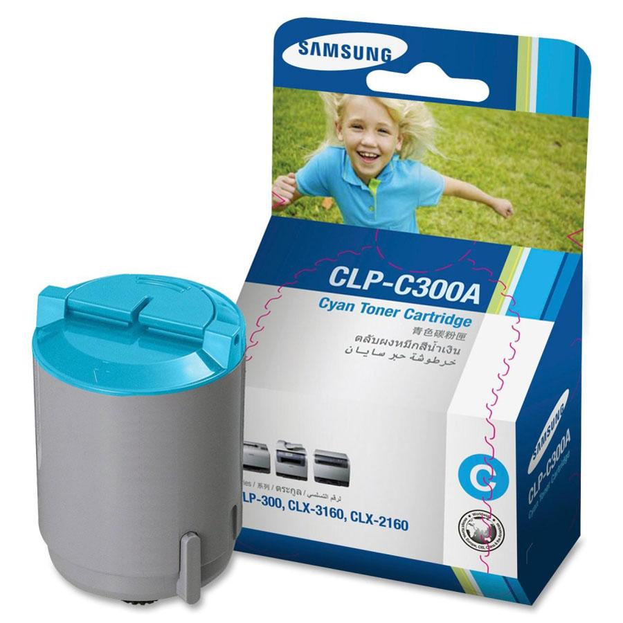 Samsung CLP300 Cyan Toner Cartridge (Original)