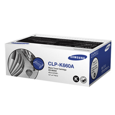 Samsung CLP-K660B Black Toner Cartridge