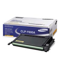 Samsung CLP-Y600A Yellow Toner Cartridge