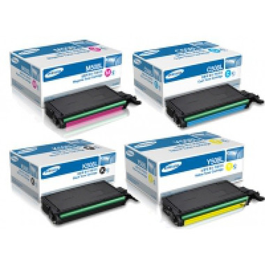 Samsung Toner Cartridges Value Pack - Includes: [1 x Black, Cyan, Magenta, Yellow]
