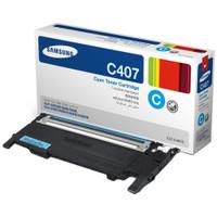 Samsung CLT-C407S Cyan Toner Cartridge