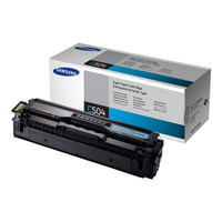 Samsung 504S Cyan Toner Cartridge (Original)