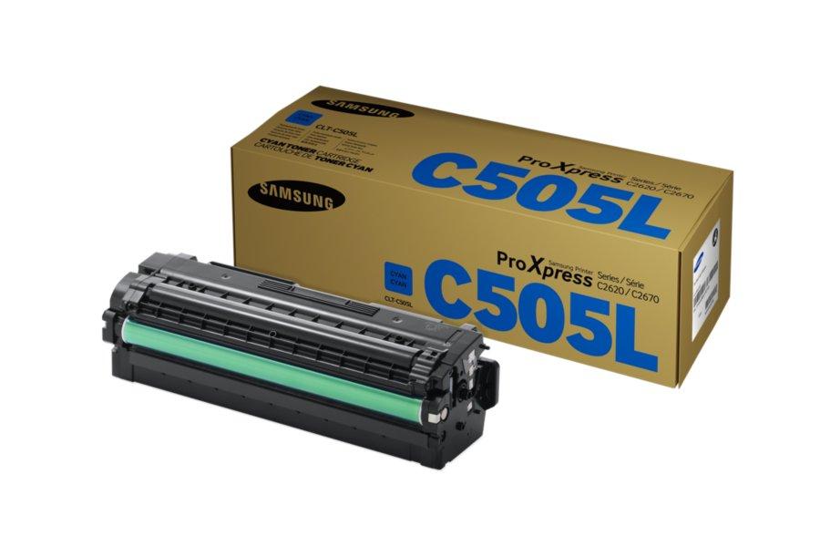 Samsung 505L Cyan Toner Cartridge (Original)