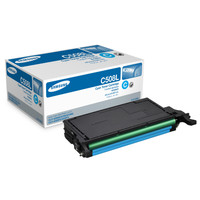 Samsung CLT-C508L Cyan Toner Cartridge