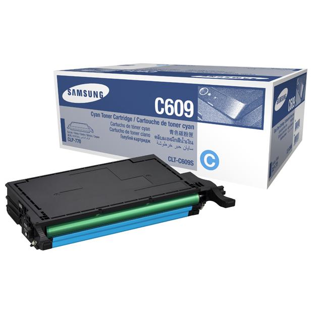 Samsung 609S Cyan Toner Cartridge (Original)