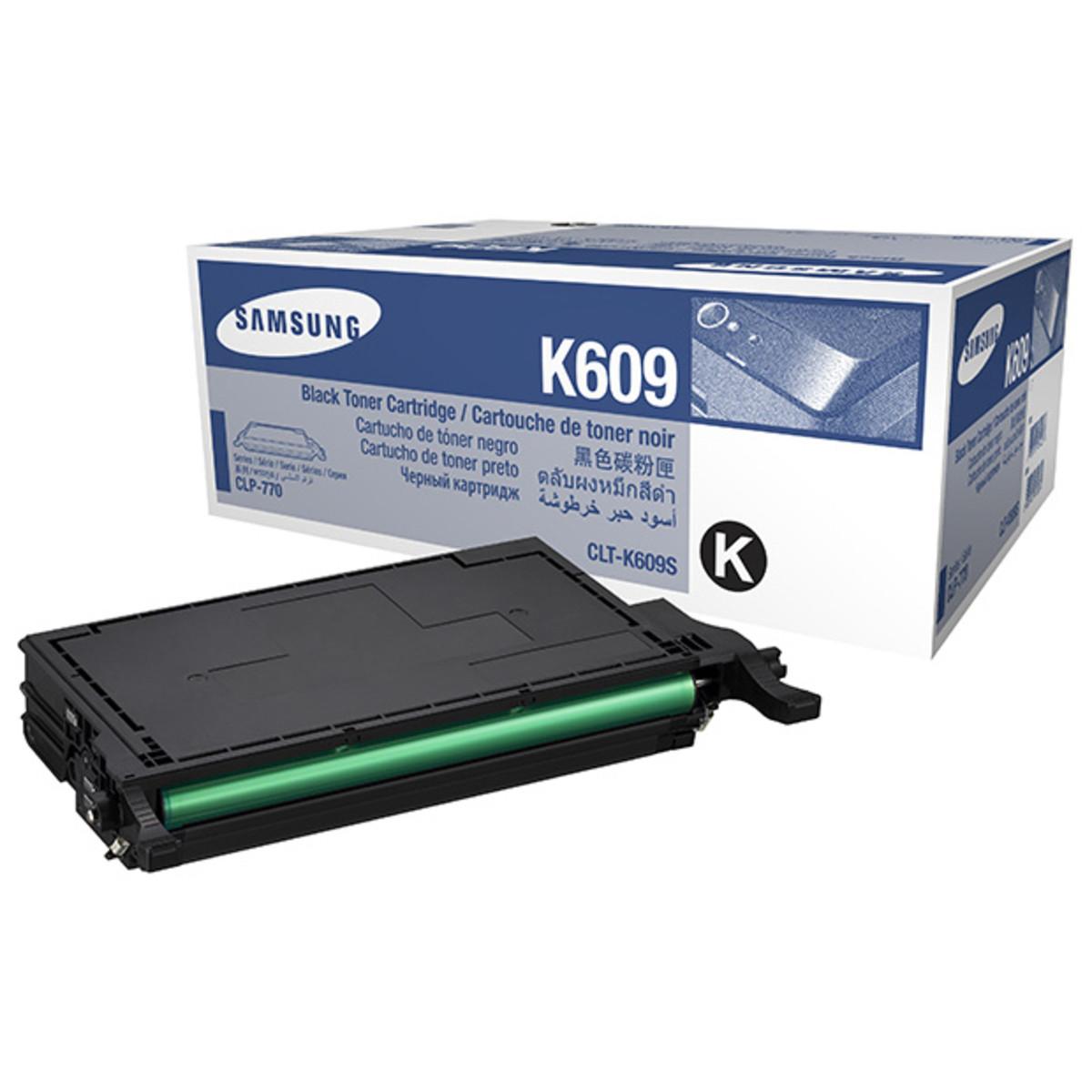 Samsung CLT-K609S Black Toner Cartridge