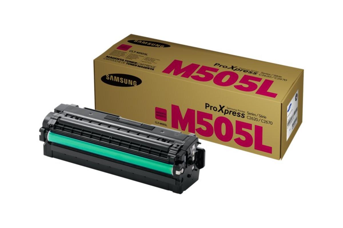 Samsung CLT-M505L Magenta Toner Cartridge