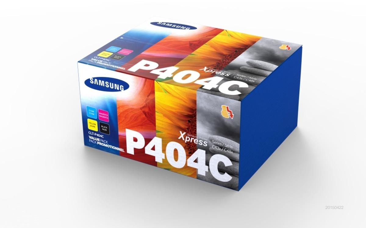 Samsung CLT-P404C Value Pack Toner Cartridges
