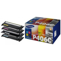 Samsung CLT-P406C Colour Toner Cartridges - Value Pack