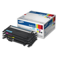 Samsung CLT-P407C Rainbow Toner Cartridges - Value Pack