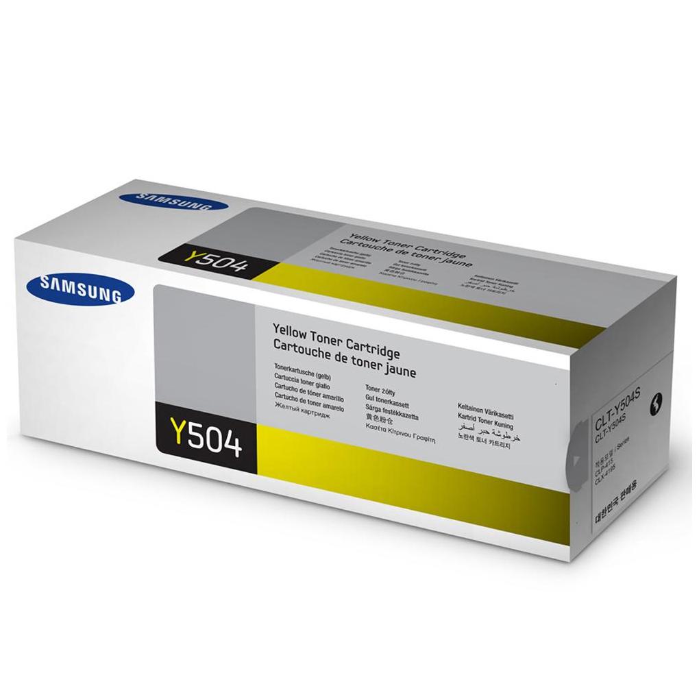 Samsung 504S Yellow Toner Cartridge (Original)